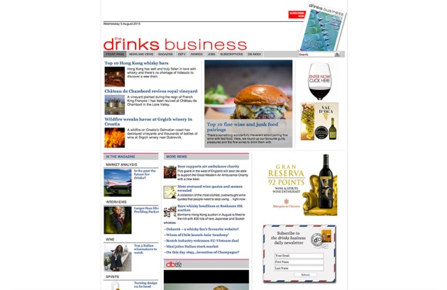 The Drinks Business copy