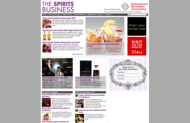 The Spirits Business copy