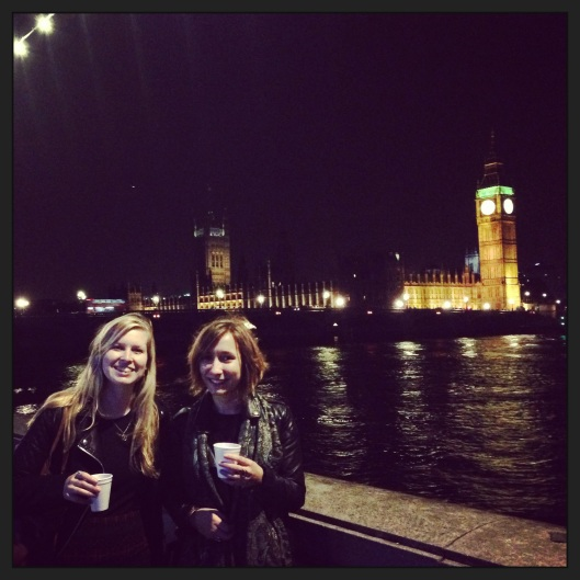 Mulled wine and Big Ben!