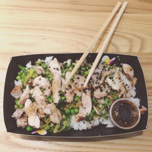 Healthy post workout meal from Itsu