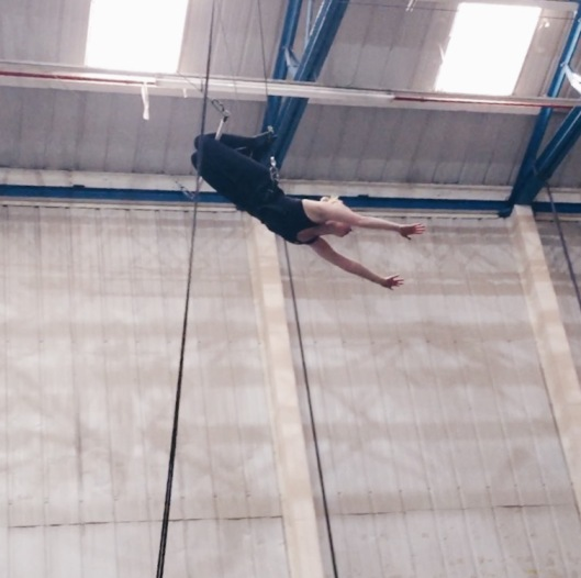 Face your fears with flying trapeze