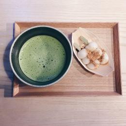 O-matcha and mochi